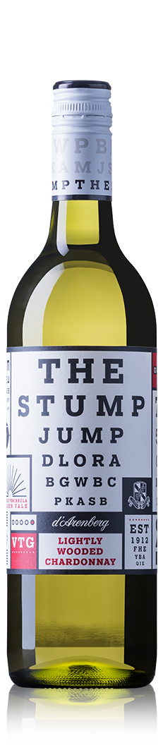 THE STUMP JUMP LIGHTLY WOODED CHARDONNAY 2018