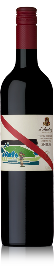 2013 The Blind Tiger Single Vineyard Shiraz
